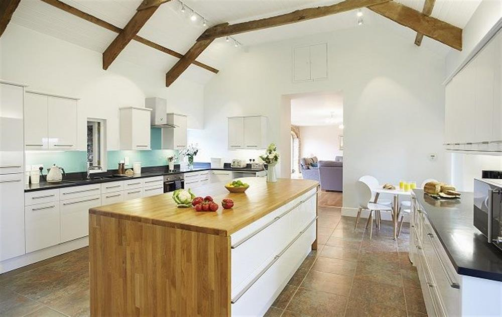 Ground floor:  Spacious kitchen at The Old Carthouse, nr Narberth