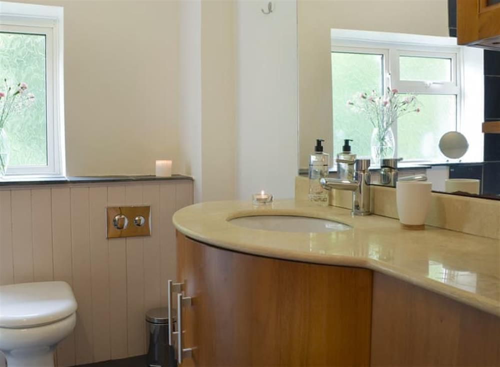 Generous sized bathroom (photo 2) at The Old Church House in Llechryd, near Cardigan, Dyfed