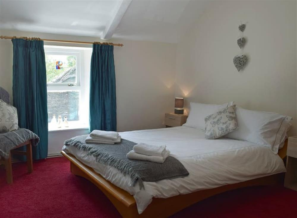 Sumptuous double bedroom at The Old Church House in Llechryd, near Cardigan, Dyfed