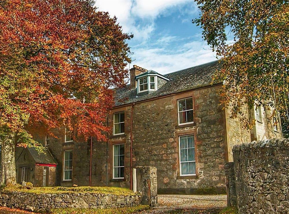 Imposing former convent nestling in the Scottish Highlands