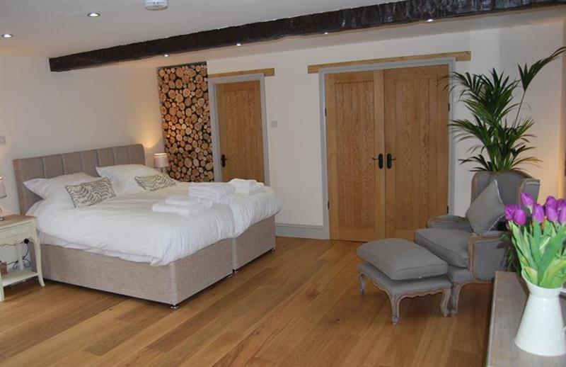 Bedroom at The Old Cow Shed, Pott Row near Kings Lynn, Norfolk