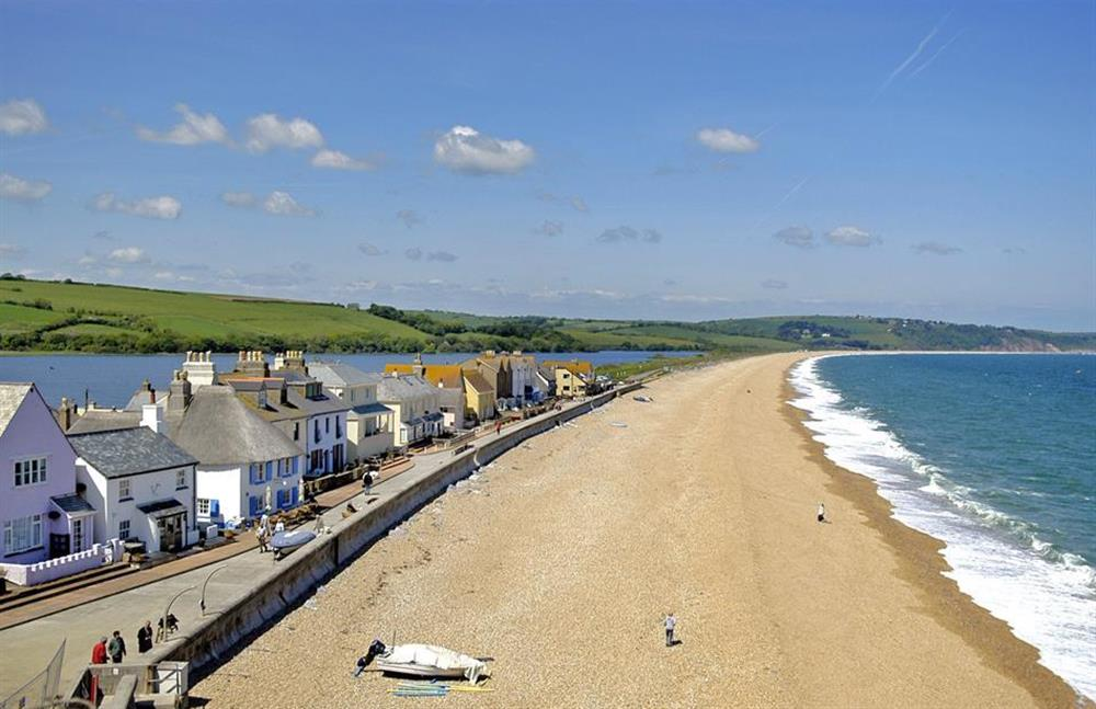 Enjoy a stroll along the promenade at Torcross at The Old Dairy, East Allington