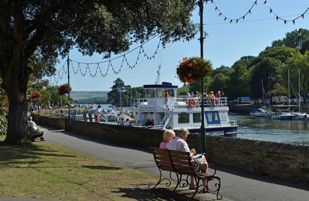 Enjoy the waterside town of Kingsbridge at The Old Dairy, East Allington