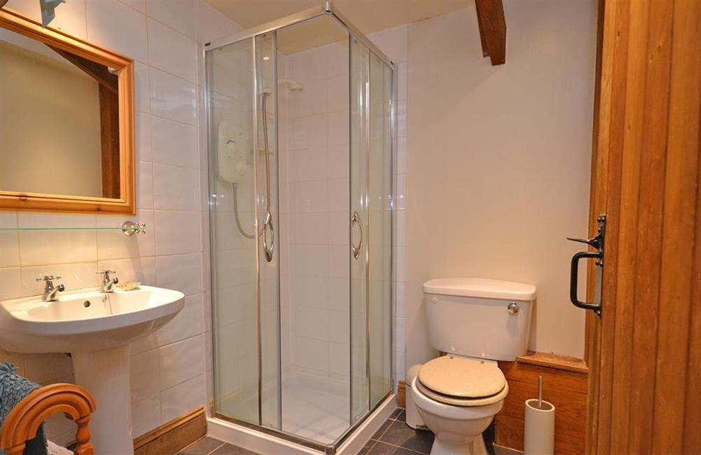 The first floor shower room at The Old Dairy, East Allington