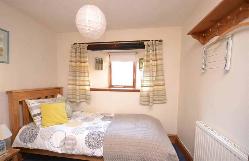 The single bedroom at The Old Dairy, East Allington