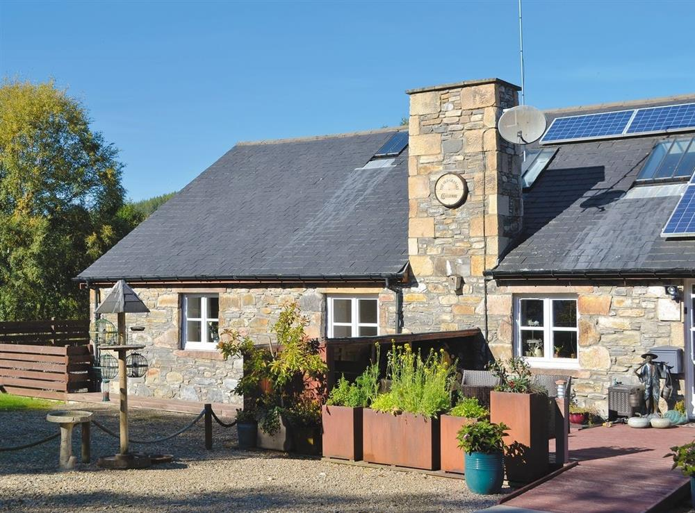 Exterior at The Old Granary in Ballindalloch, Banffshire
