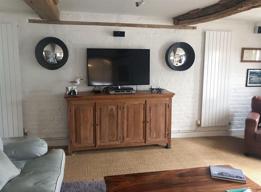 Living room at The Old Granary in Stalham Staithe, Norfolk