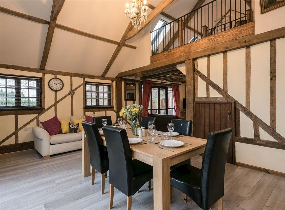 Accommodating dining room (photo 2) at The Old Hall Coach House in Tacolneston, near Wymondham, Norfolk