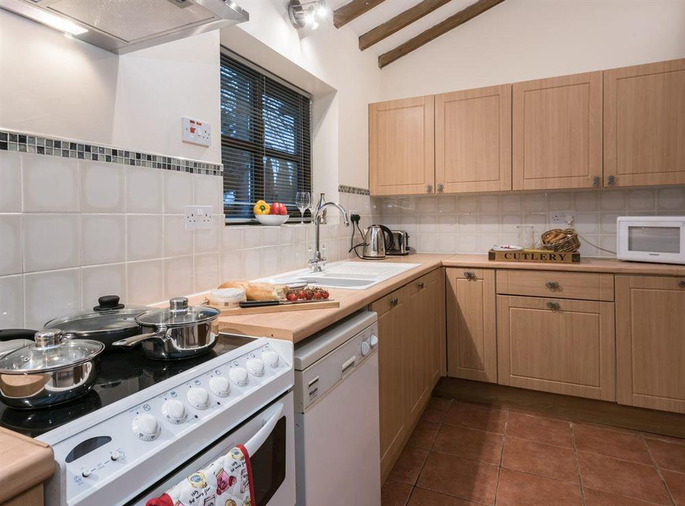 Kitchen at The Old Hall Coach House in Tacolneston, near Wymondham, Norfolk