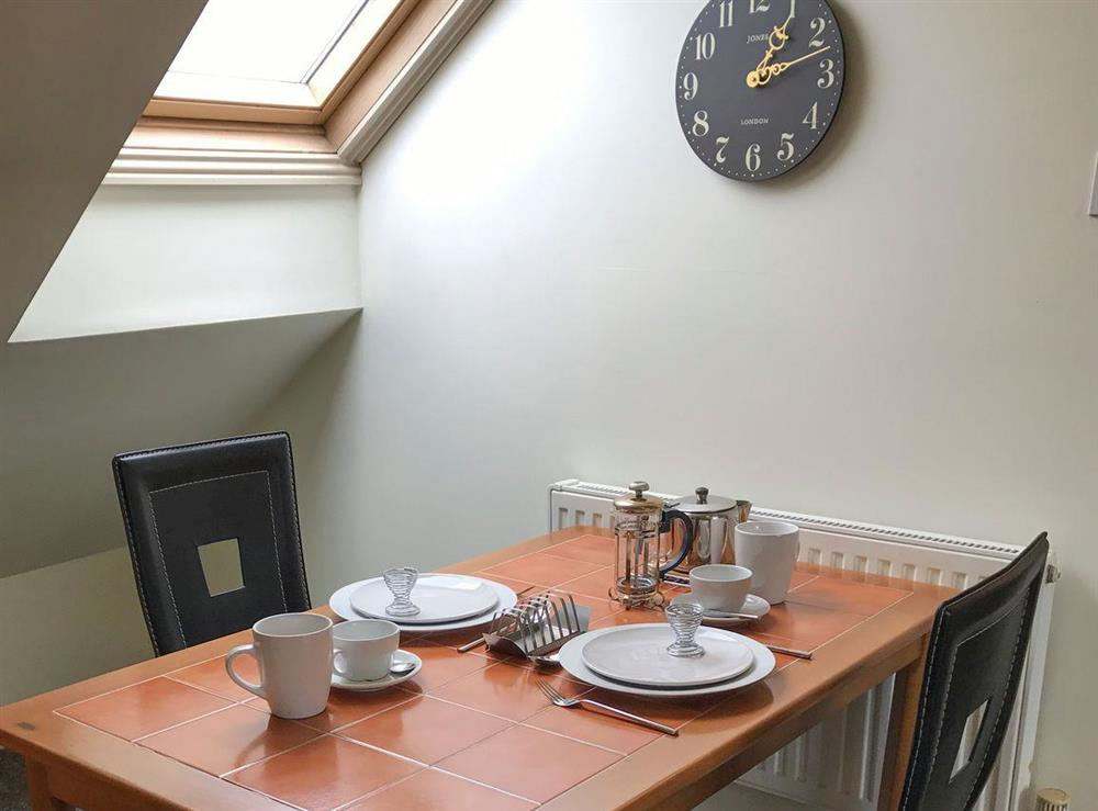 Convenient dining area at Slack-m-Girdle,