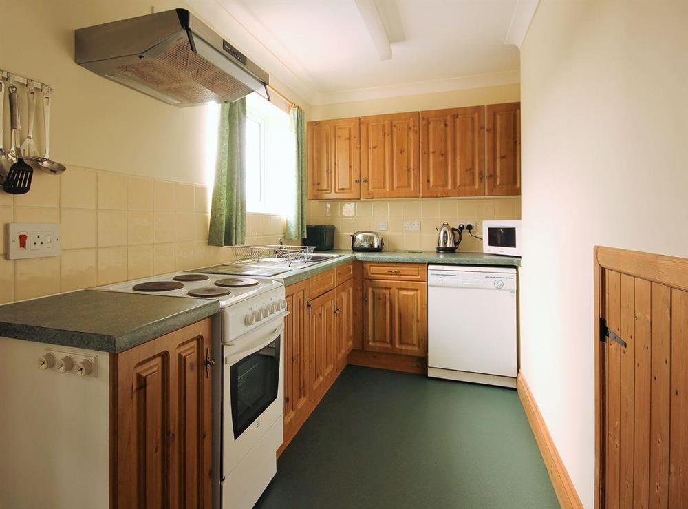 Lovely well-fitted kitchen at Sweet Coppin,