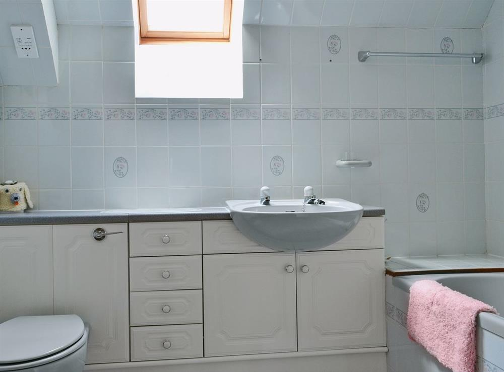 Bathroom at The Old Post Office in Rogart, Nr Golspie., Sutherland