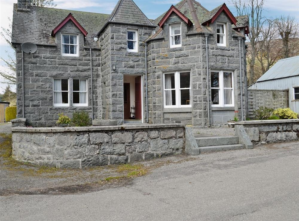 Exterior at The Old Post Office in Rogart, Nr Golspie., Sutherland