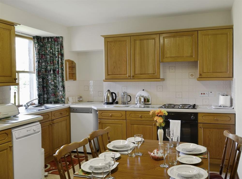 Kitchen/diner at The Old Post Office in Rogart, Nr Golspie., Sutherland