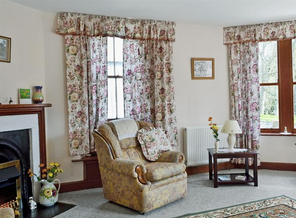Living room at The Old Post Office in Rogart, Nr Golspie., Sutherland