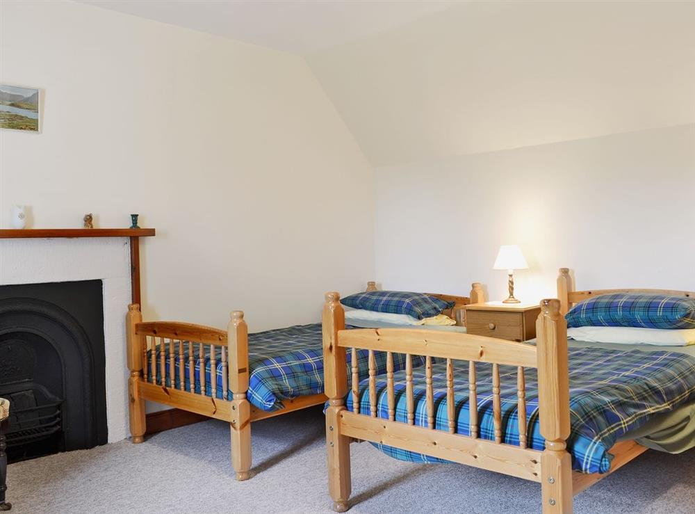 Twin bedroom at The Old Post Office in Rogart, Nr Golspie., Sutherland
