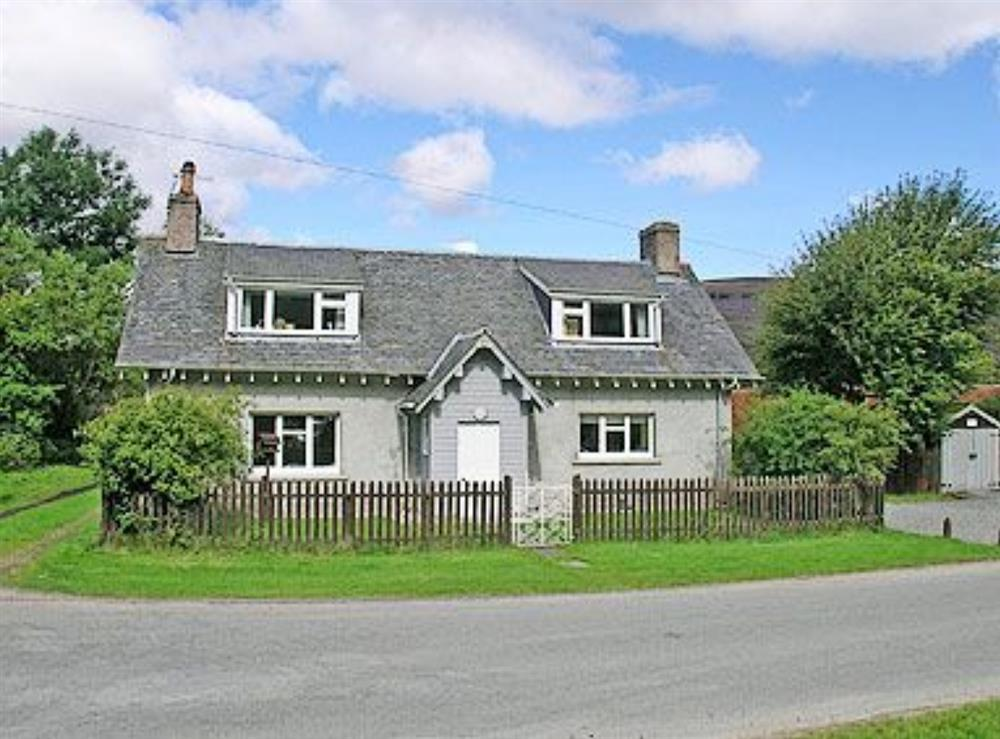 Exterior at The Old School House in Braemar, Aberdeenshire