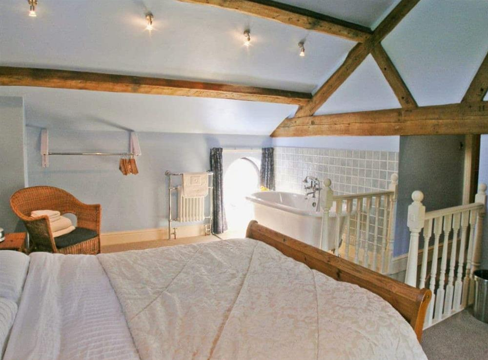 Double bedroom at The Old Stables in Alvanley, Frodsham, Cheshire., Great Britain