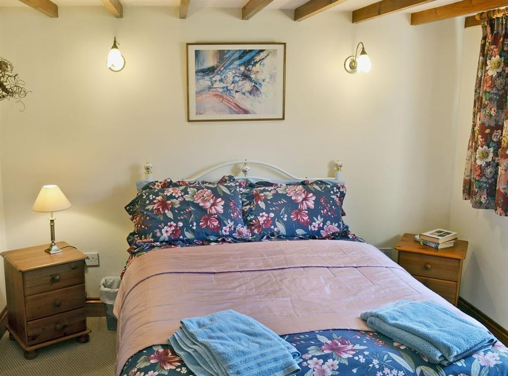 Double bedroom at The Old Stables in Fressingfield, Eye, Norfolk