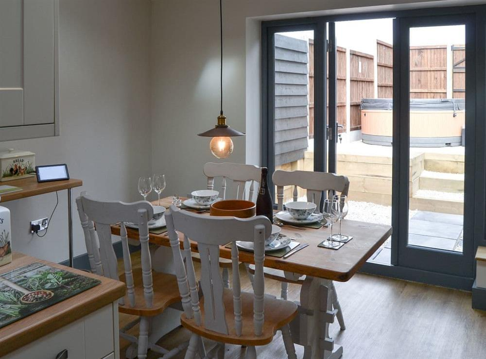 Dining area at The Old Stables in Swafield, near North Walsham, Norfolk
