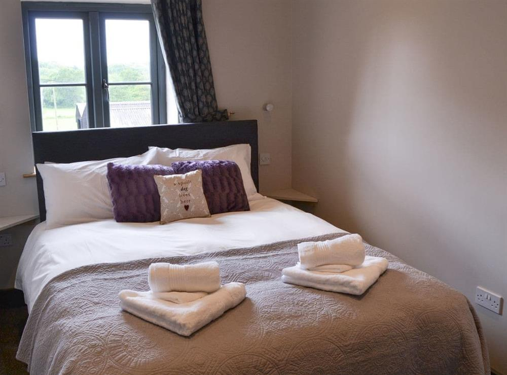Double bedroom at The Old Stables in Swafield, near North Walsham, Norfolk