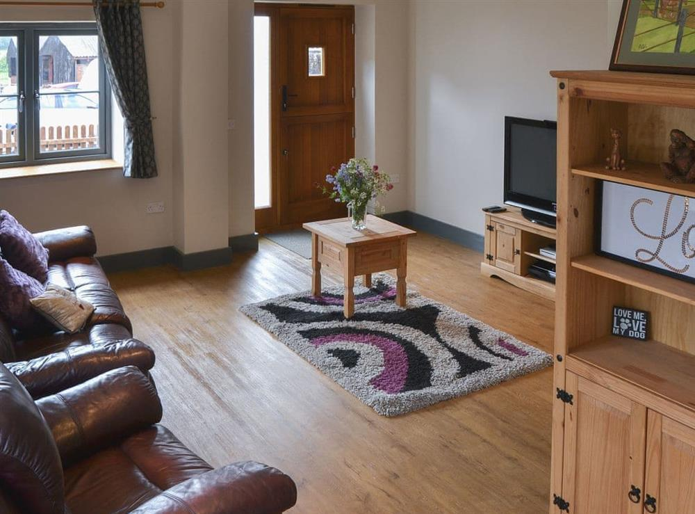 Living room at The Old Stables in Swafield, near North Walsham, Norfolk