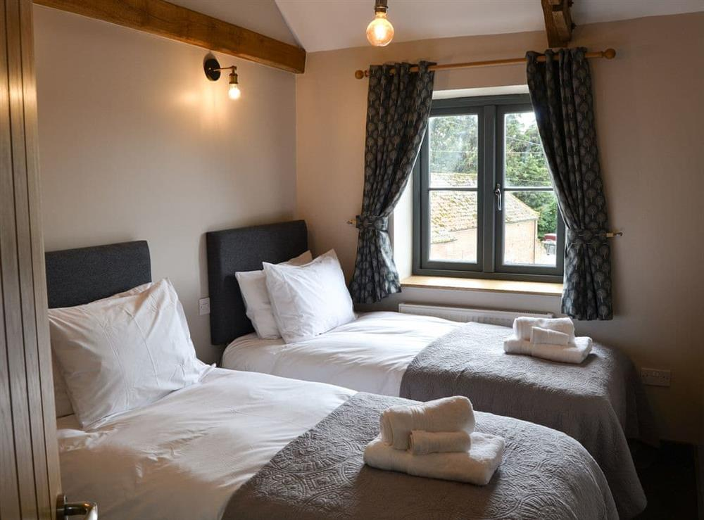 Twin bedroom at The Old Stables in Swafield, near North Walsham, Norfolk