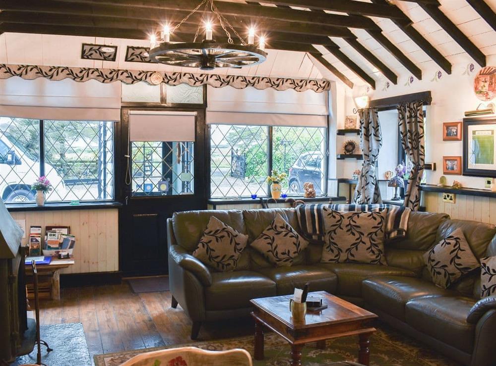 Living area at The Old Tea Shop in Scarfsferry, near Thurso, Caithness