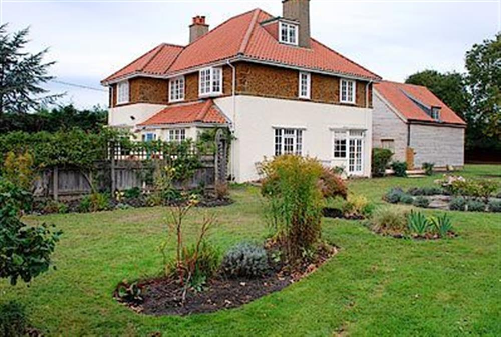 Garden at The Old Vicarage in Holme-next-the-Sea, Norfolk., Great Britain