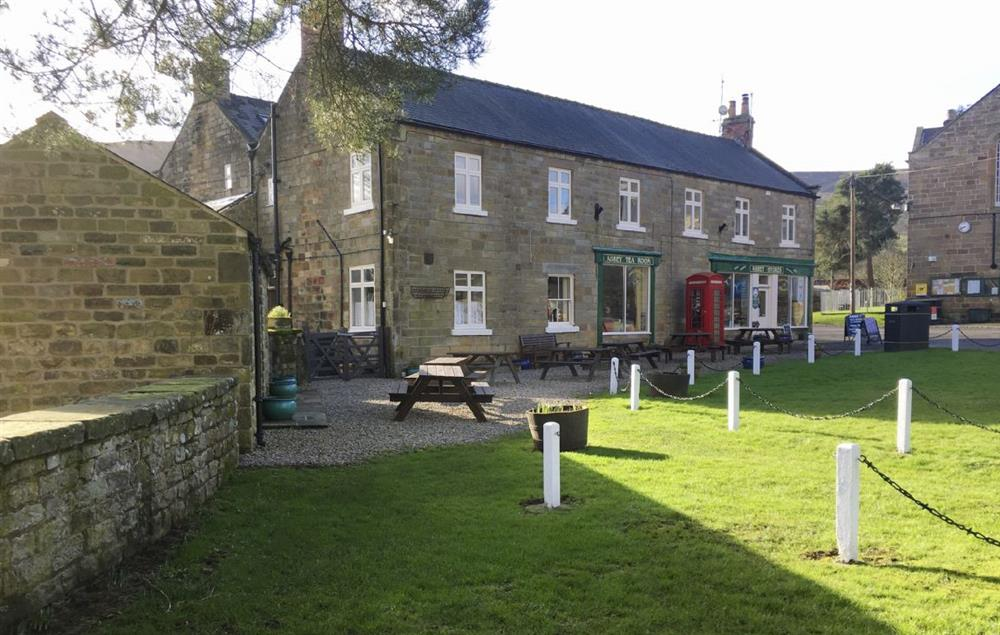 Rosedale Abbey is a picturesque village with two pubs and two tea rooms