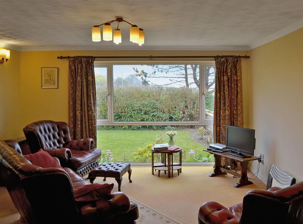 Living room at The Paddock in Happisburgh, Norfolk
