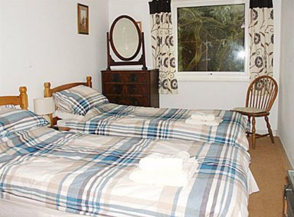 Twin bedroom at The Paddock in Happisburgh, Norfolk
