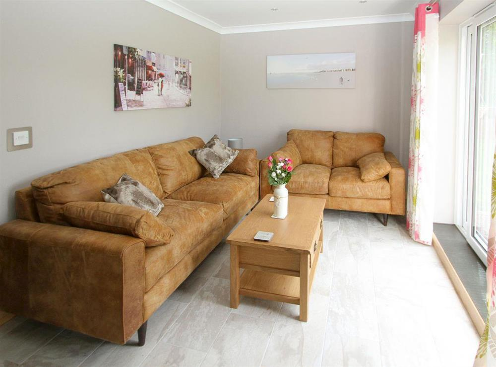 Light and airy living area at Squirrels Drey,
