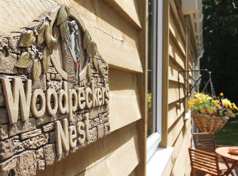 Attractive holiday home at Woodpeckers Nest,