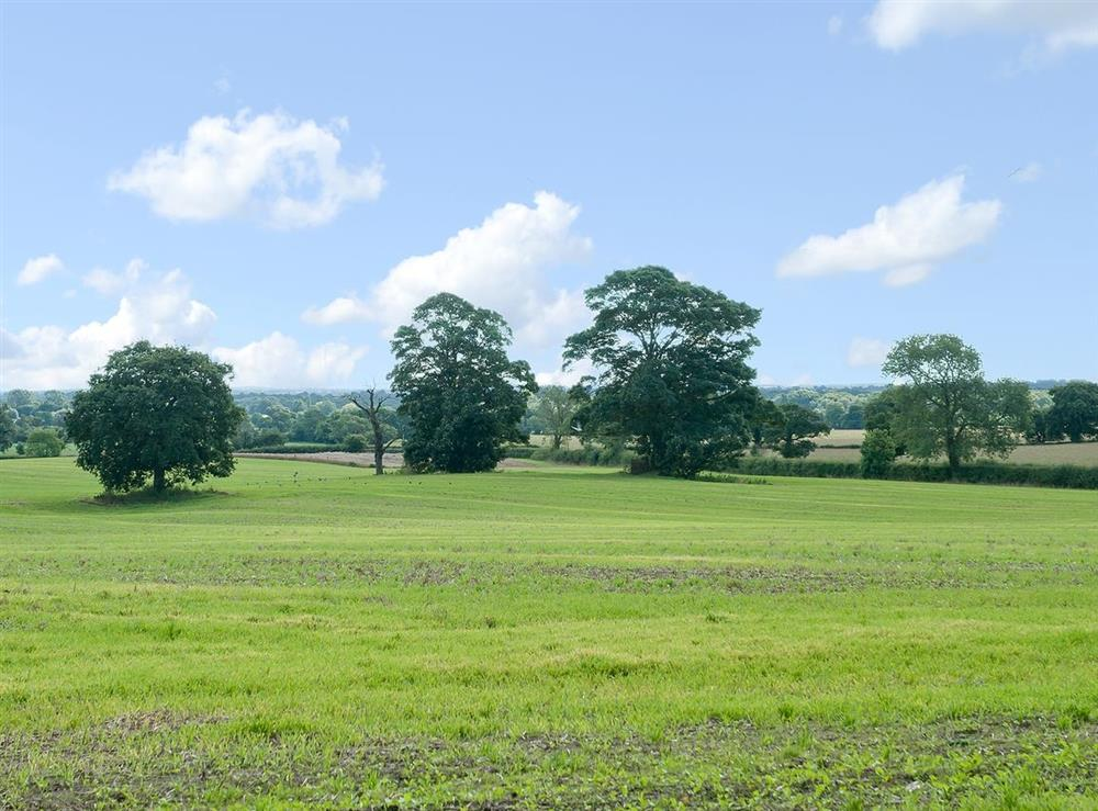 View at The Park in Tilstock, Whitchurch, Shropshire., Great Britain