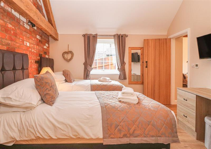 One of the bedrooms at The Parlour, Chester, Cheshire
