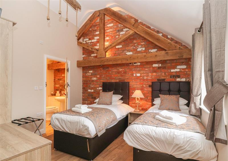 Twin bedroom at The Parlour, Chester, Cheshire