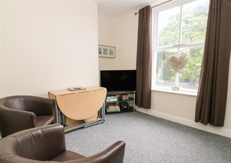 The living area at The Pebbles, Hornsea