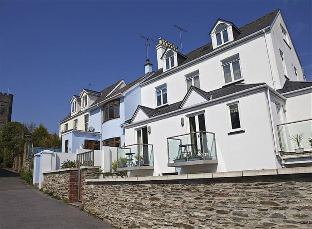 Exterior at The Penthouse in Endsleigh Court, Stoke Fleming