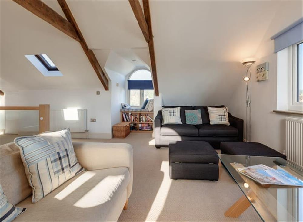 Open plan living space (photo 3) at The Penthouse in Endsleigh Court, Stoke Fleming