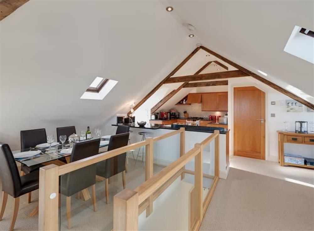 Open plan living space (photo 4) at The Penthouse in Endsleigh Court, Stoke Fleming