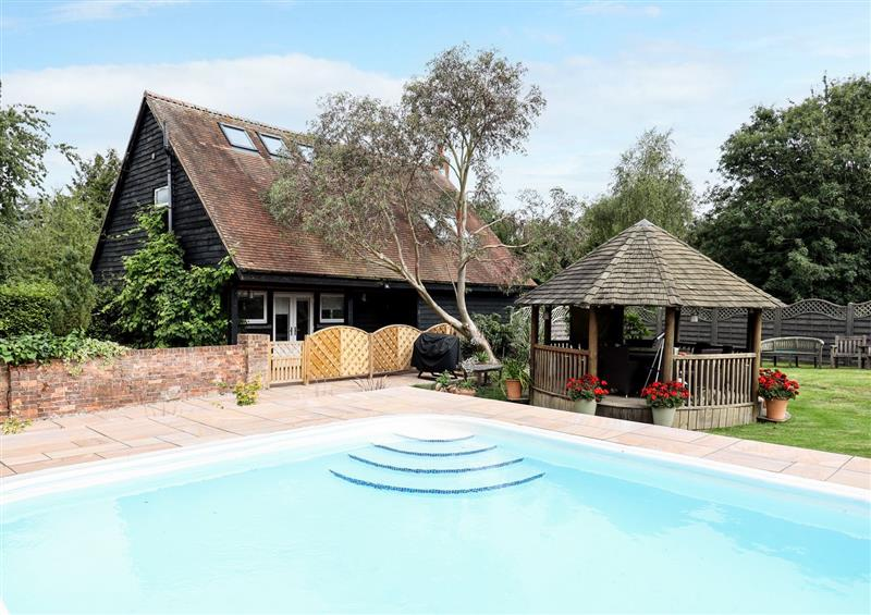 Spend some time in the pool at The Pool House, Bendish near Whitwell