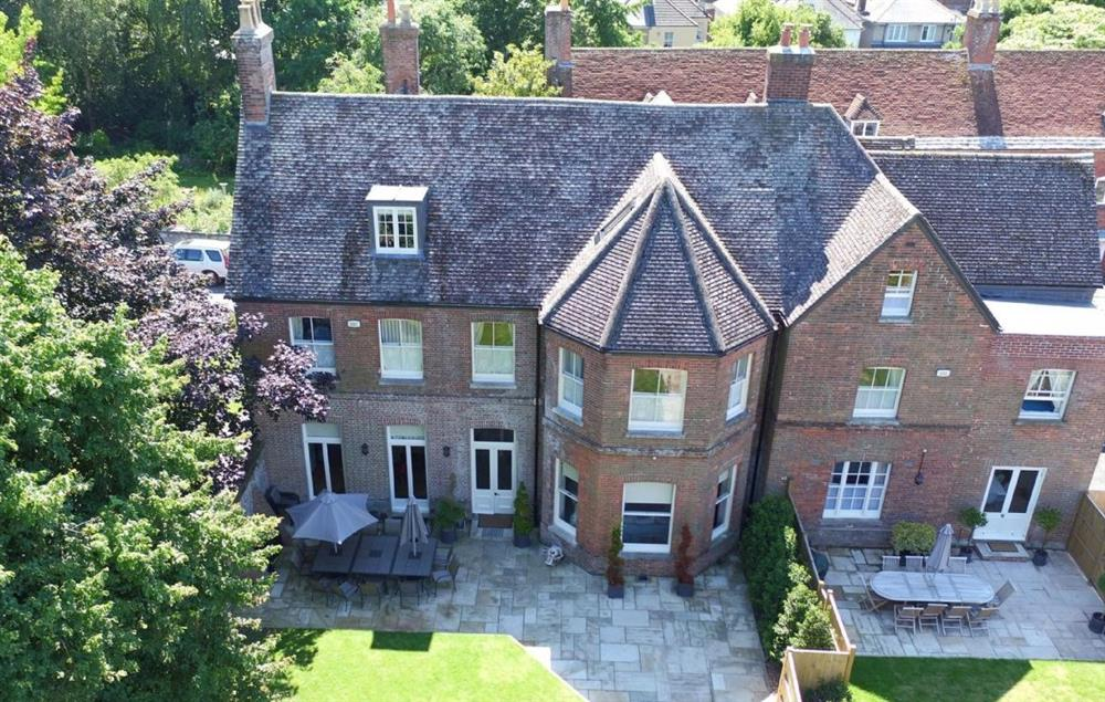 Aerial view of Quay House