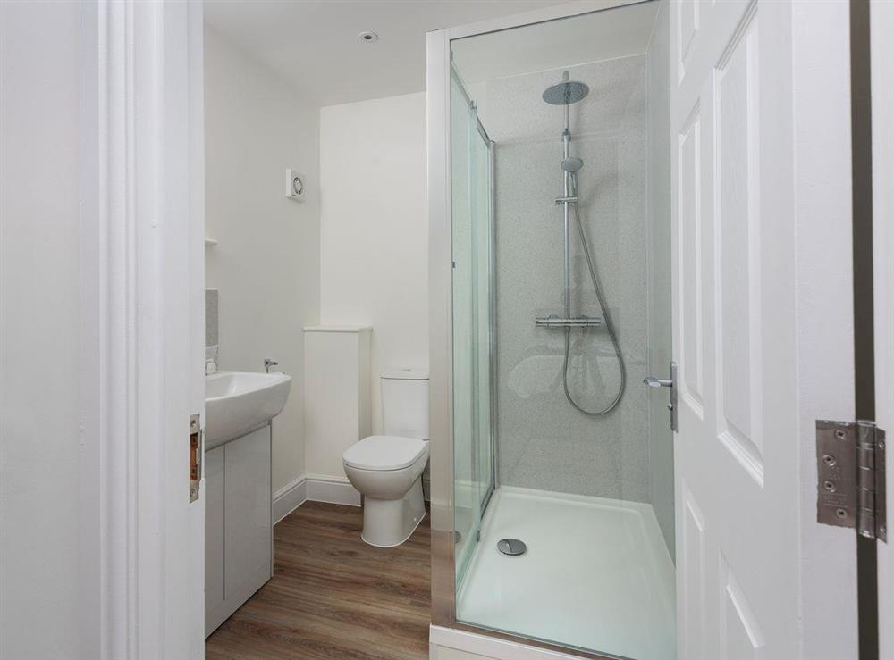 En-suite shower room at Berwick Swan,