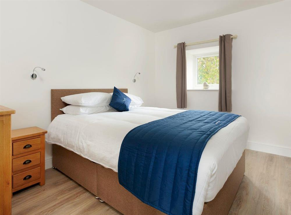 Comfortable first floor double bedroom at Crested Grebe,