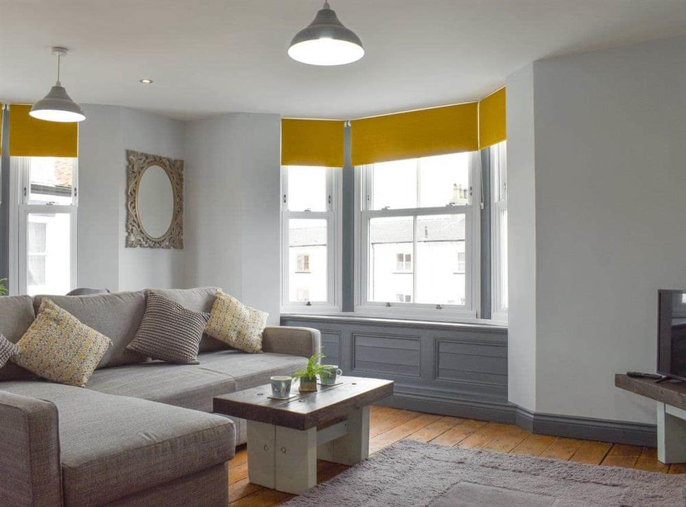 Living area at The Rocket in Flamborough, North Humberside