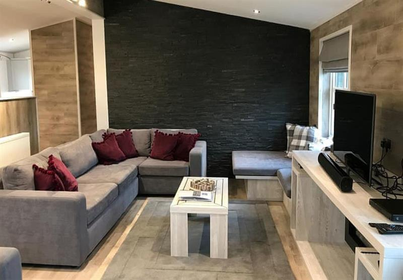 The living room in the Platinum at The Sanctuary in The Sanctuary, Berkshire