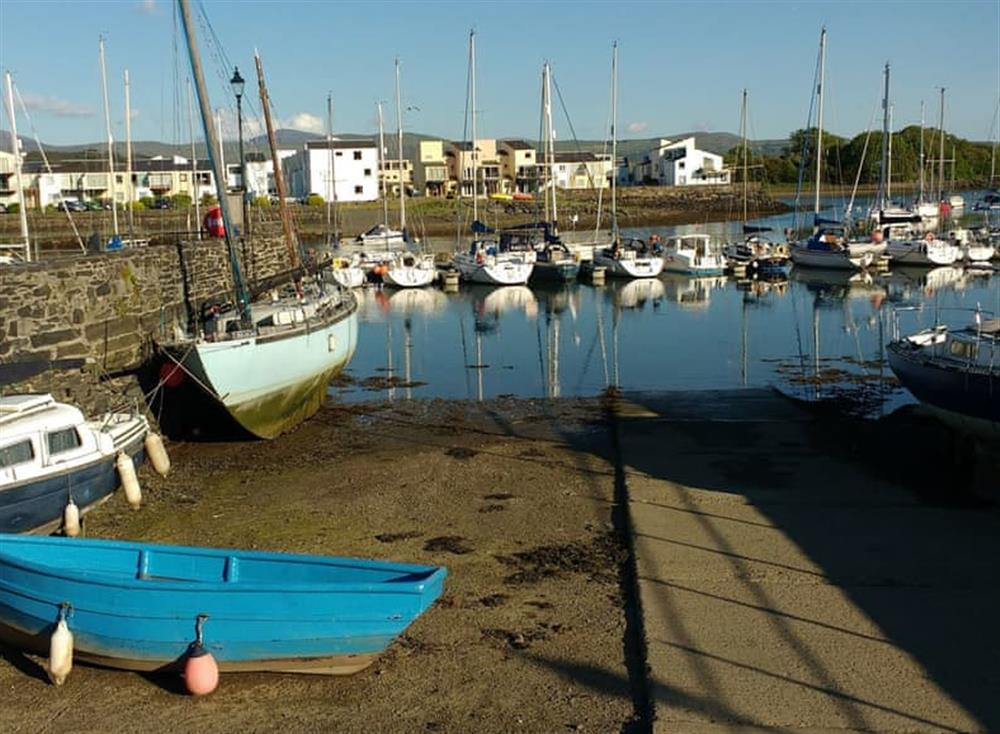 View of Porthmadog harbour