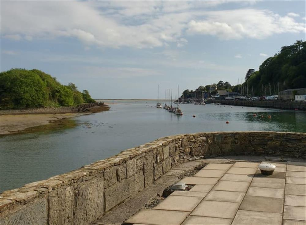 View towards the open sea from the tip of Snowdon Wharf