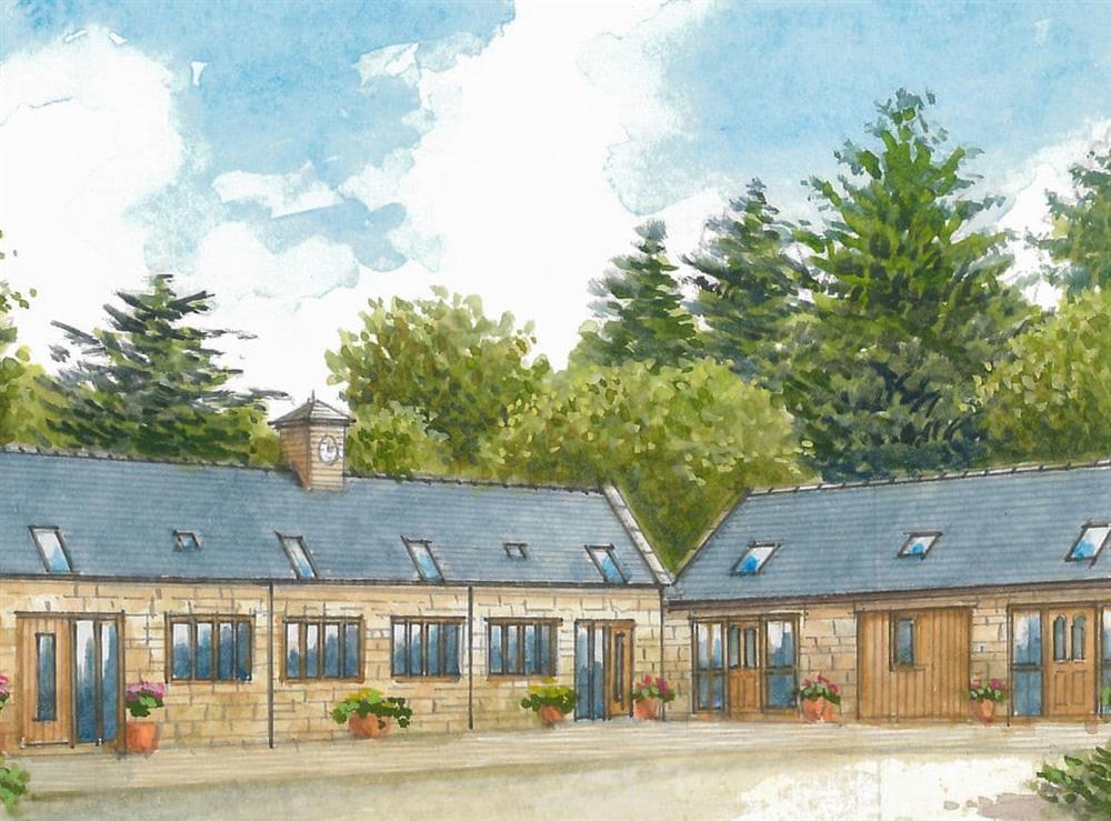 Artist's Impression at Cottage 2,
